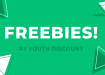 Every day is 'give something away day' at Youth Discount with these freebies!
