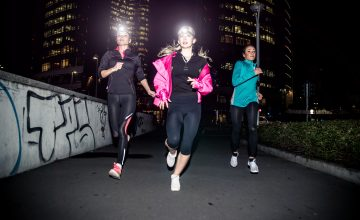 How to stay safe when running at night
